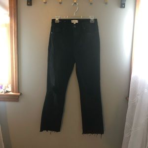 Harper Black Mom Jeans